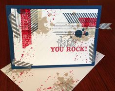 Stampin up Gorgeous Grunge Card