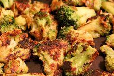 Parmesan Crusted Broccoli Recipe
