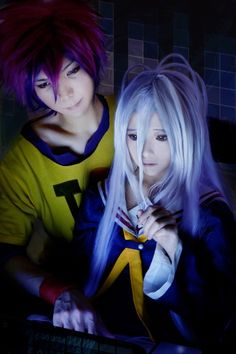 Sora  Shiro Cosplay | No Game No Life