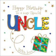 Happy Birthday to Uncle