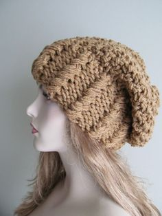 Oversized Slouchy Beanie Slouch Hats Baggy Beret by Lacywork, $45.99