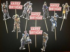 Apex Legends Inspired cupcake toppers Apex legends inspired birthday decorations Apex legends inspired birthday Video game decorations Mario Birthday Party, Birthday Party Decorations, Birthday Parties, Video Game Decor, Cupcake Toppers, Birthday Video, Legends, Happy Birthdays, Inspired