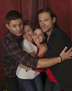 NJCon 2014 - My friend Tara McClung and Tricia Lee J2 Photo Op - adorable!