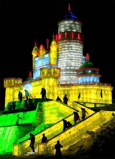 Harbin international Snow festival
