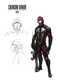 As a part of an upcoming fan art i re-designed one of my favorite soldier of Cobra army. Best Superhero, Superhero Design, Gi Joe, Joe Movie, Cobra Art, Character Art, Character Design, Cobra Commander, Sci Fi Armor