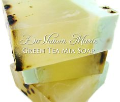 Green Tea Mia Soap - DeShawnMarie