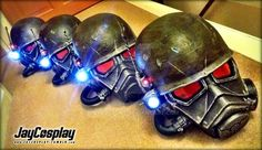 NCR Veteran Ranger Helmets 02 by JayCosplay on DeviantArt