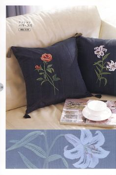 Embroidery pillowcase patterns