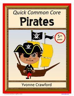 Pirate Quick Common Core (5th grade) $