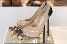Nude heels?? Yes please!