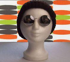 Coole 70er - Brille, J.-Lennon-Style mit UV-Schutz von Hot-Stuff-Berlin auf DaWanda.com