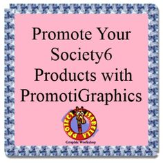 Get your Society6 product and store promoted by Project Isabella