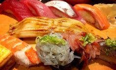 駿河の海の寿司。