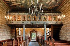 Sollia, Storelvdal, Hedemark, NORWAY Sollia Church Interior