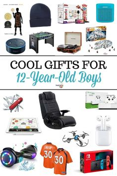 Good Gifts For 12 Year Old Boys - Foto Gift and Basement Fsaquatics. Birthday Gifts For Boys, Boy Birthday, Golden Birthday, 10 Year Old Gifts, Tween Boy Gifts, Cool Gifts For Kids, Kids Gifts, 13 Year Old Boys, Parent Gifts