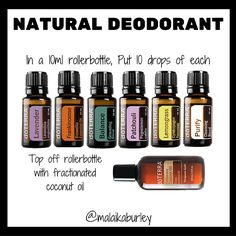 Regular antiperspirant can have some many harmful chemicals. Here's a natural deodorant recipe you can try.