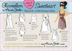 How to wear a Chameleon dress