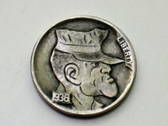 Joe Gallagher - US Marine Jarhead Hobo Nickel, Us Marines, Usmc, Soldiers, Coloring Books, Buffalo, Coins, Carving, Art