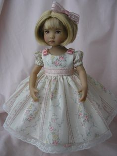 19-TEA-PARTY-DRESS-for-13-034-Dianna-Effner-Little-Darling-doll-by-Tomi-Jane