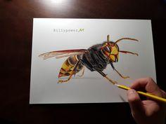 Bee by billypower_Art