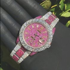 Guess the price Created By: Created For: 💎DM FOR CHEAP CUSTOM JEWELLERY💎 - - - - ———————————————————- (Ignore) diamonds rolex timepiece traxnyc ap bustdown lil icebox icy setting icedout gucci gold lv Accesorios Casual, Expensive Jewelry, Beautiful Watches, Cute Jewelry, Jewlery, Luxury Jewelry, Fashion Watches, Jewelry Watches, Jewelry Accessories