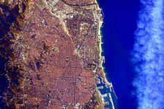 Picture of the Day: Barcelona from Space