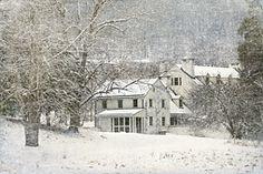Philander Knox Estate in Winter White