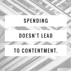 Your shopping spree will only lead to more heartache.#DaveDaily