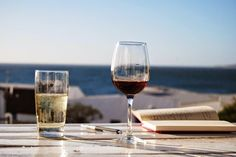 Chilling on the West Coast, Paternoster Chilling, West Coast, Red Wine, South Africa, My Photos, Alcoholic Drinks, Glass, Drinkware, Corning Glass