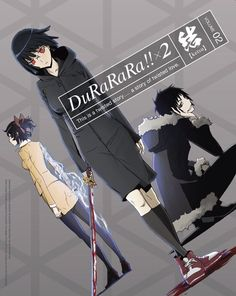 Durarara!!X2 Ketsu. I really liked this, especially the second to last episode. They really built up a lot of suspense.