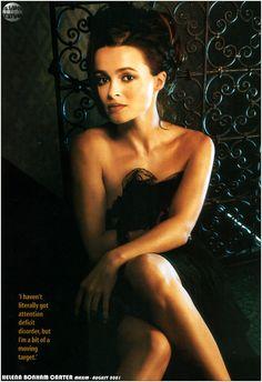 Helena Bonham Carter Maxim - August 2001 USA