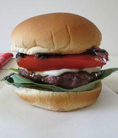 How To Make Caprese Burger