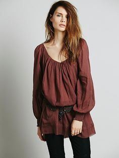 Endless Summer Pop Stitch Swing Tunic at Free People Clothing Boutique