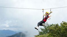 Ride the world's longest zip line, South Africa