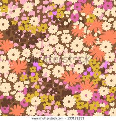 Ditsy Flower Stock Photos, Images, & Pictures | Shutterstock