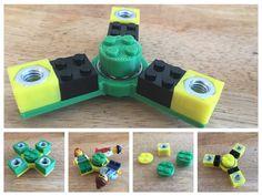 Customizable Lego-like Fidget Spinner & Hex Nut Brick by Lucina - Thingiverse