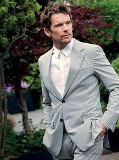 Ethan Hawke, Best Actor, Wedding Suits, American Actors, Elegant, Awards, Suit Jacket, Blazer, Celebrities