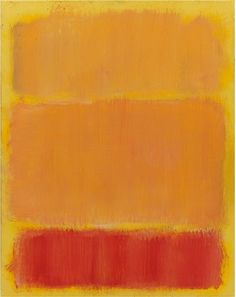 Daily Rothko   Untitled, 1968, Acrylic on paper mounted on board