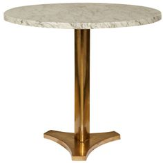 Fine 1960's Bronze Gueridon   From a unique collection of antique and modern side tables at http://www.1stdibs.com/tables/side-tables/