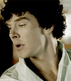 (gif) UGH! That neck and those nose crinkles! They're killing me!!