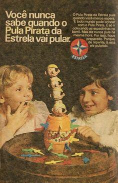 Jogo Pula Pirata #nostalgia