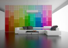 A wall that changes - High Tech Gadgets To Give Your Home A Futuristic Look