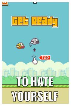 Flappy bird }:-[