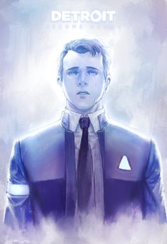 Detroit become human Connor By: 618ppl