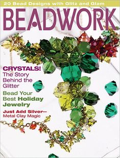 2006, Dec 2005-Jan 2006 - BEADWORK Mag Vol 9 No 1, at Sova-Enterprises.com