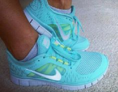 I want these! I'm always more motivated to workout when I have new workout clothes & shoes, especially in bright colors :)
