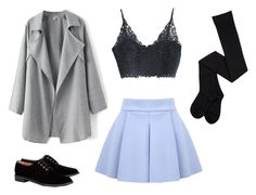 """""""veronica sawyer"""" by fabuloustimesthree ❤ liked on Polyvore featuring Robert Clergerie"""