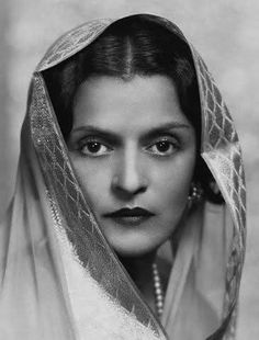 HH the Maharani Sahiba Indira Raje of Cooch Behar. She was betrothed at a young age to Madho Rao Scindia, the then Maharaja of Gwalior but later fell in love and married Jitendra, younger brother of the Maharaja of Cooch Behar in London. (Interestingly, Indira's eldest daughter, Ila, married the Maharaja of Tripura. Their son is father of Bollywood stars  Riya Sen and Raima Sen). She died in Bombay in 1968