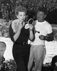 Who knew Lucille Ball was such a Betty? Looking good, Lucy!