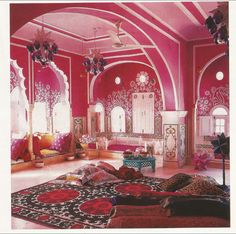 Home Of Liza Bruce + Nicholas Alvis Vega In Jaipur, India. Featured In  Elle. Indian Inspired BedroomIndia ...